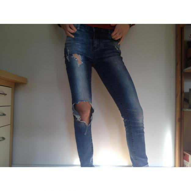 Ripped jeans fra Pieces